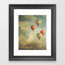 Tales Of Far Away Framed Art Print