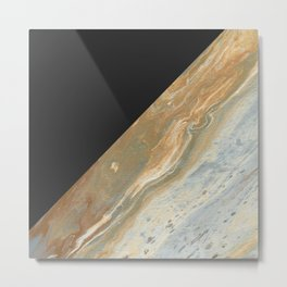 Athena Color Block Metal Print