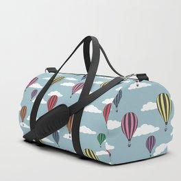 Colorful hot air balloons Duffle Bag