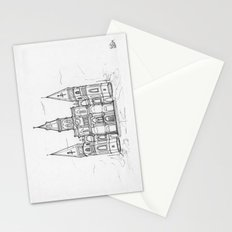 St. Louis Cathedral   New Orleans   Illustration  Stationery Cards