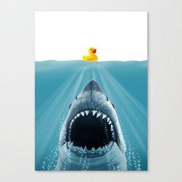 Save Ducky Canvas Print