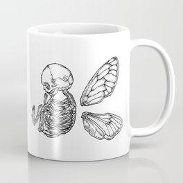 Winged Skull Coffee Mug