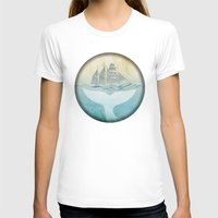 moby dick T-shirts featuring Moby by Vin Zzep