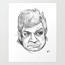 Patton Oswalt Art Print