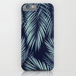 Palm Leaf Jungle Night Vibes #1 #tropical #decor #art #society6 iPhone Case