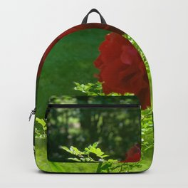 Wild Red Roses Backpack