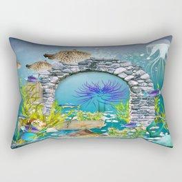 Unterwasserlandschaft Rectangular Pillow