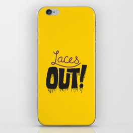 Laces out! iPhone Skin