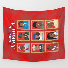 Coming to America Wall Tapestry