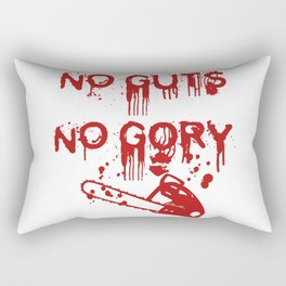 No Guts, Not Gory! Red Version Rectangular Pillow