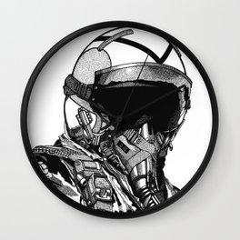 Fighter Pilot Wall Clock