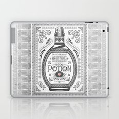 Legend of Zelda Red Potion Vintage Hyrule Line Work Letterpress Laptop & iPad Skin