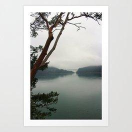 Isle to Land Art Print