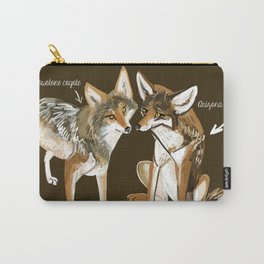 Coyotes in love Carry-All Pouch