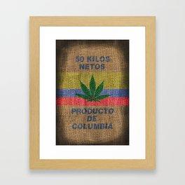50 Kilos Netos Framed Art Print
