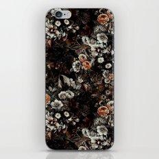 Night Garden V iPhone & iPod Skin