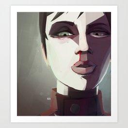 Borderlands - Tannis Art Print