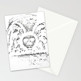 Black Headstone Stationery Cards