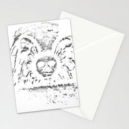 Black Headstone Stationery Cards