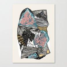 Cosmic geology Canvas Print