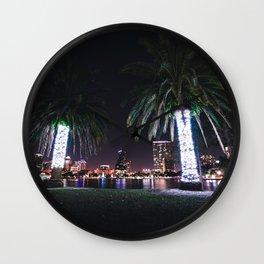 Orlando Nights Wall Clock
