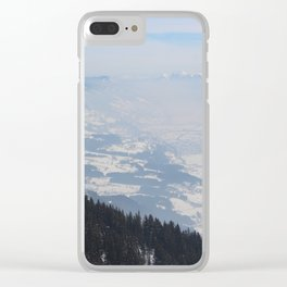Wunderfull Snow Mountain(s) 1 Clear iPhone Case