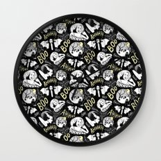 Classic Horror Halloween Wall Clock
