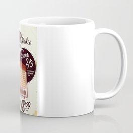 Vintage American radio advert Coffee Mug