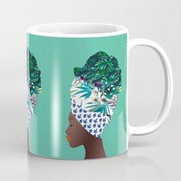 Tofo, Mozambique Capulana Lady Coffee Mug
