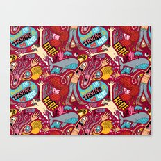 What am I Trying to do Here? Canvas Print