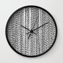 DASH - Poetry of the Pen Series by Cooper & Colleen Wall Clock