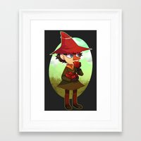 moomin Framed Art Prints featuring Joxter by lemonteaflower