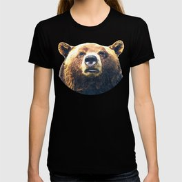 Bear portrait T-shirt