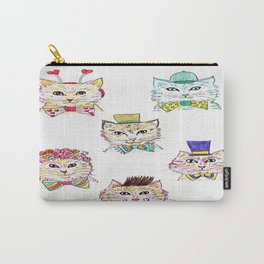 Kitties Galore Carry-All Pouch