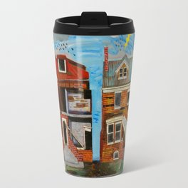 Unemployed Robots of Detroit Travel Mug