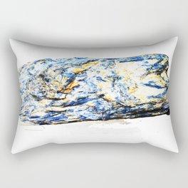 Kyanite crystall Gemstone Rectangular Pillow