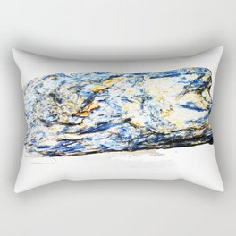 Kyanite crystall Gemstone Rectangular Pillow