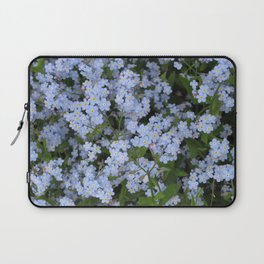 Forget Me Nots Laptop Sleeve