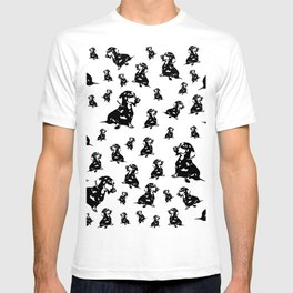 """DOXIE"" DACHSHUND  DOG T-shirt"