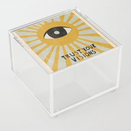 Trust your visions Acrylic Box