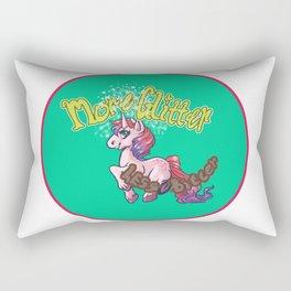More Glitter Less Bitter Rectangular Pillow