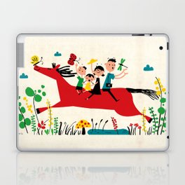 happy horse Laptop & iPad Skin