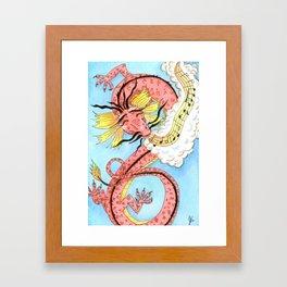 Dragon Song Framed Art Print