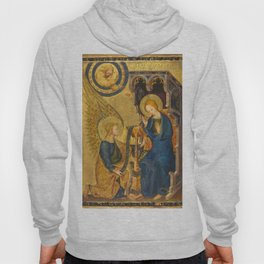 The Annunciation France 14th century Hoody