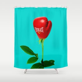 Rose Punch Shower Curtain