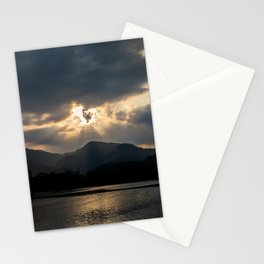 Shining Eye on the Sky Stationery Cards