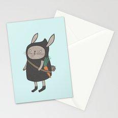 Ninja Bunny Stationery Cards