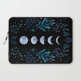 Moonlight Garden - Blue Laptop Sleeve