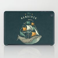 grey iPad Cases featuring Whale | Petrol Grey by Seaside Spirit