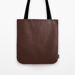 chocolate brown Tote Bag